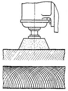 Шлифование деталей на плоскошлифовальных установках торцом круга