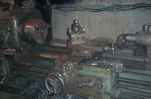 Фото работы на токарном станке ДИП-200, armaturka.ru