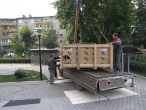 На фото - применение стального троса в ПВХ-оболочке, promalp.ru