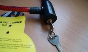Фото использования стального троса в ПВХ-оболочке, otzovik.com