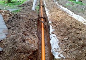 Фото глубокой прокладки трубопровода, aqua-rmnt.com