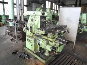 Конструкция и основные составляющие консольной установки для фрезерования