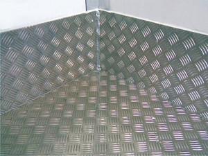 Применение рифленого листа толщиной 5 мм
