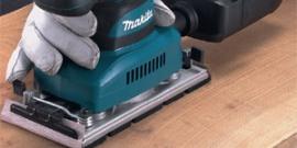 Makita BO3711 – простой в применении и эффективный шлифовальный инструмент
