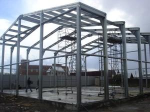 Фото конструкции из равнополочного швеллера, roof-tops.ru