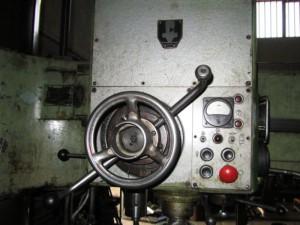 Фото управляющего пульта радиально-сверлильного станка 2М55, caam.ru