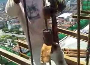 Фото процесса сварки арматуры ванным способом, youtube.com