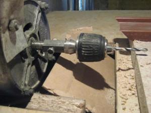 Фото сверлильного станка из двигателя от стиральной машины, forum.sdelaimebel.ru