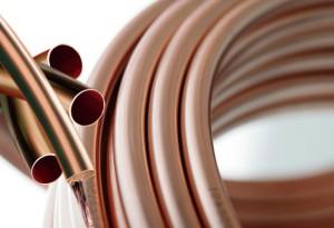 На фото - пластичность медных труб для отопления, gazeta.ru
