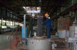 Фото газового цианирования заготовок, kzbi.ru