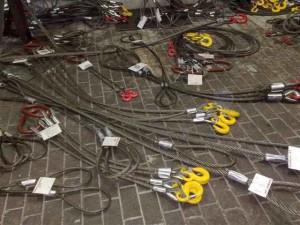 Фото стальных стропов с бирками, ukr-prom.com