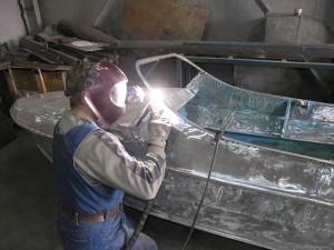 Фото сварки изделий из алюминия, welda.ru