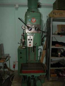 На фото - составные компоненты вертикально-сверлильного станка 2Н125, ukrtech.at.ua