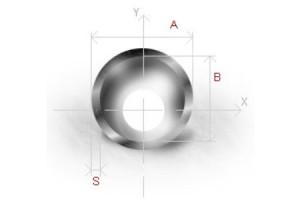 На фото - определение параметров электросварной трубы, sidero-truby.ru