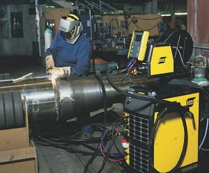 Электродуговая восстановительная наплавка электродами с покрытием