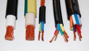 На фото - кабельные проводники электропитания из меди, colorex.com.tr