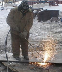 Основы работы с газовым резаком