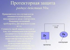 Фото протекторной защиты, myshared.ru