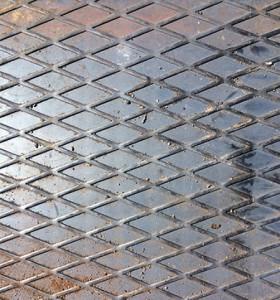 Фото ромбовидного рифления стальных листов, sptmetall.ru