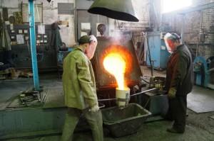 Фото изготовления бронзы, elmet-lit.ru