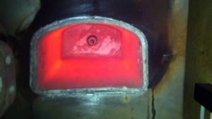 На фото - муфельная печь для плавки бронзы, forum.guns.ru