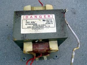 На фото - сгоревшая изоляция катушки сварочного трансформатора, mastter.ru