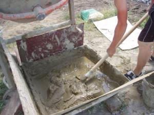 Фото раствора из цемента с песком, aquagroup.ru