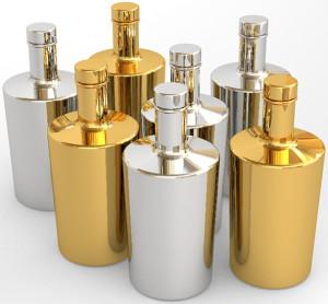 На фото - вакуумная металлизация стеклянных изделий, glass-decor.ru