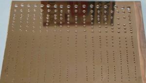 Фото металлизации сквозных отверстий печатной платы, whoby.ru