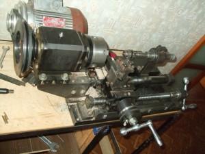 Фото электрического мотора для самодельного токарного станка, mastercity.ru