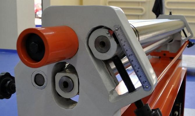 Фото механического вальцовочного станка Stalex