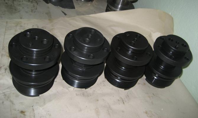 Фото чернения стали