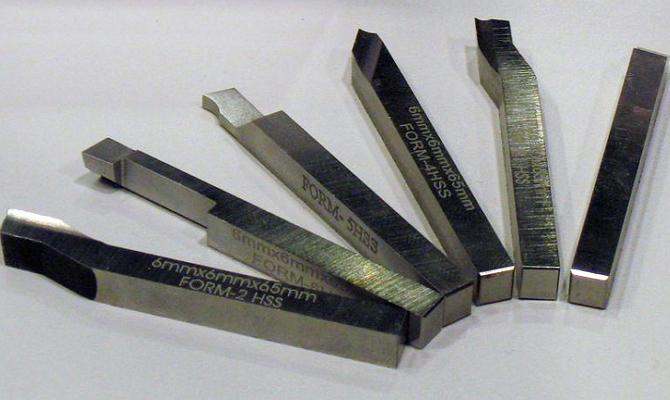 Фото рабочего инструмента для резания при точении