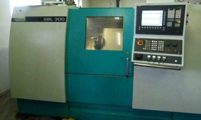 На фото - особенности токарного станка TRENS SBL 300
