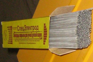 На фото - стержни для наплавки изделий из стали, spetselectrode.ru