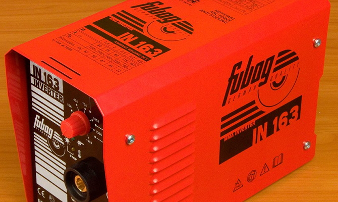 Фото запуска установки Fubag IN 163
