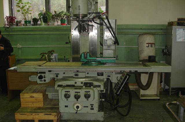 Фото универсального фрезерного станка по металлу