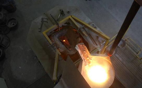 Фото центробежного литья из бронзы