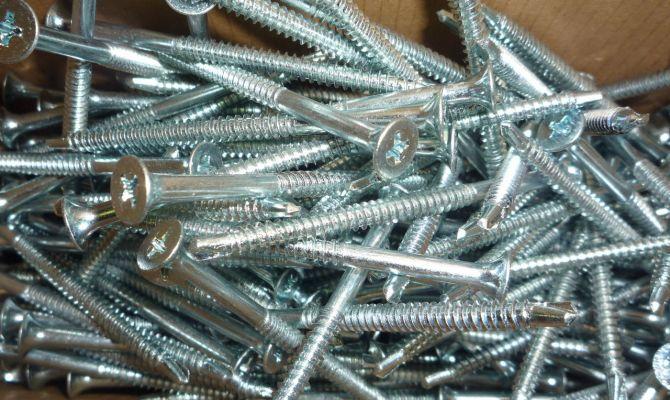 Крепежные изделия из нержавеющей стали