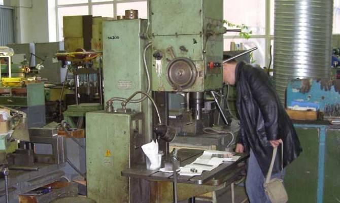 Работа на станке по металлу