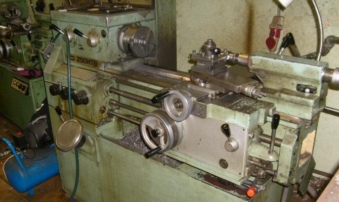 Токарный станок ИЖ-250