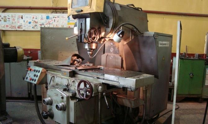 Работа на фрезерном оборудовании