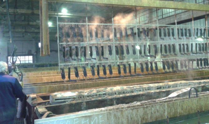 Гальваническая обработка изделий