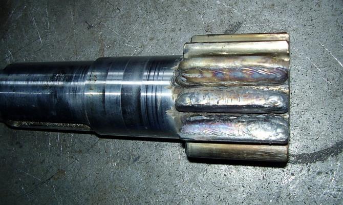 Способы наплавки цилиндрических изделий