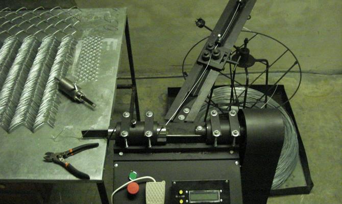Проволочная продукция для плетения сетки-рабицы