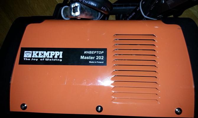 Инвертор с маркировкой Master 202