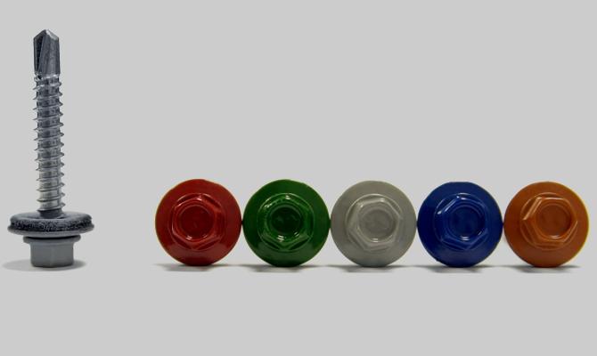 Подбор цветов головок саморезов