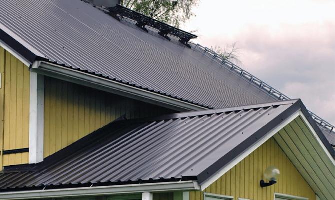 Гофролисты для устройства крыши