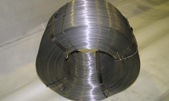 Низкоуглеродистая стальная проволока