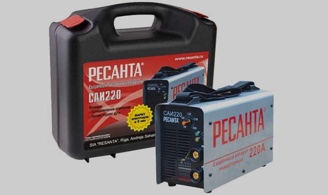 Инверторный агрегат Ресанта САИ-220 А